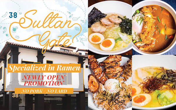 New Brand added to J Passport! Newly Open and Halal Ramen!
